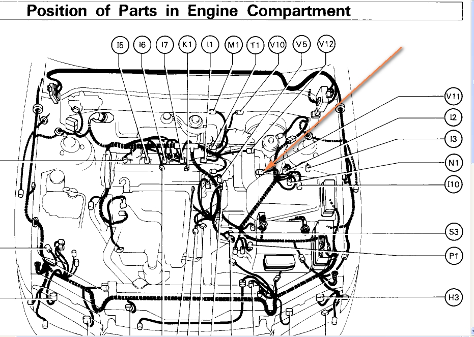 1996 Toyota Camry Engine Diagram