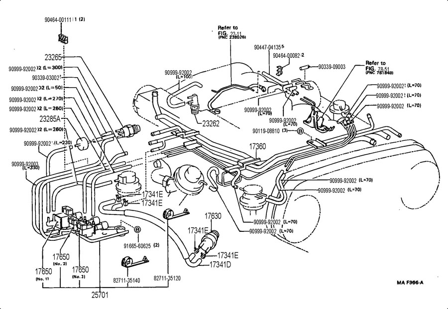 Vacuum Diagram Help - Toyota 4Runner Forum - Largest 4Runner Forum intended for 1995 Toyota 4Runner Engine Diagram