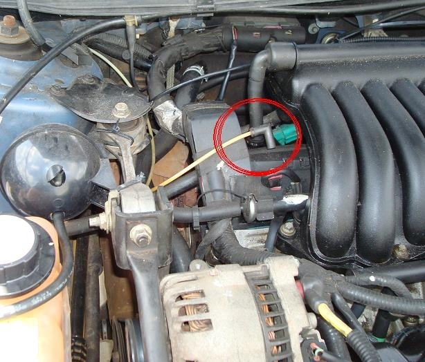 Vacuum Hose Connection, Where To? - Taurus Car Club Of America intended for 2001 Ford Taurus Engine Diagram
