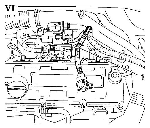 Vauxhall Workshop Manuals > Corsa C > J Engine And Engine for Vauxhall Corsa 1.2 Engine Diagram