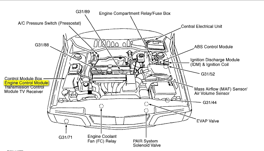 v70 engine diagram