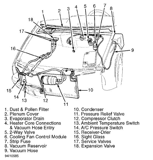 2001 Vw    Jetta    20    Engine       Diagram      Automotive Parts