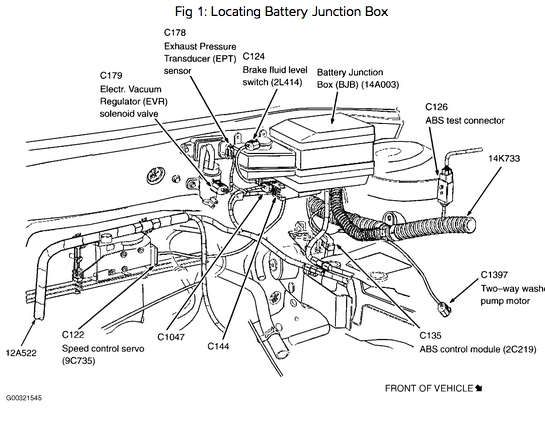Where Can I Get A Fuse Diagram For The Both Fuse Boxes Under The within 2001 Ford Focus Engine Diagram