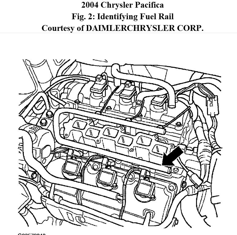 Where Is The #4 Fuel Injector. Where Do I Find Image Or Diagram Of throughout 2007 Chrysler Pacifica Engine Diagram
