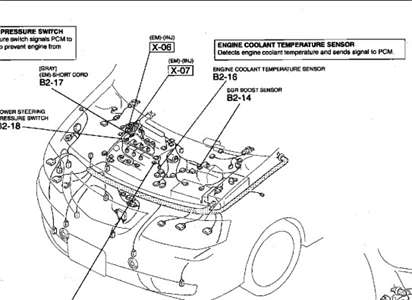 mazda mpv  engine diagram automotive parts diagram