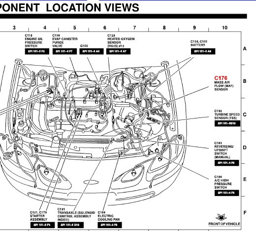 Where Is The Iat Sensor Located On A 2002 Ford Escort Zx2 throughout 2000 Ford Escort Zx2 Engine Diagram