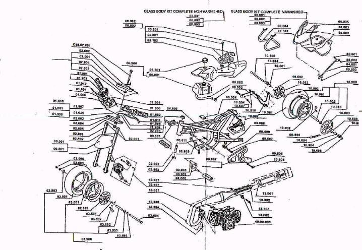 49Cc    Pocket Bike    Engine       Diagram      Automotive Parts    Diagram
