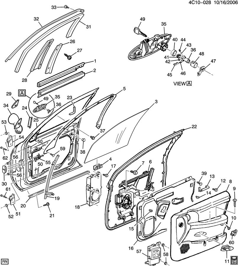 35 1999 Chevy Tahoe Parts Diagram