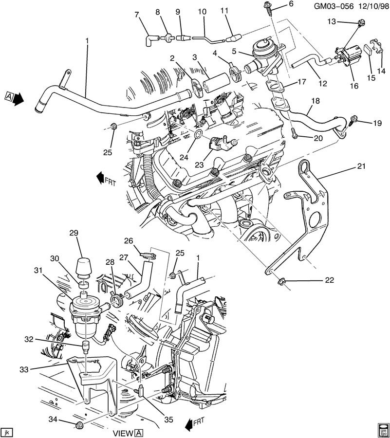 2000 Buick Century Engine Diagram