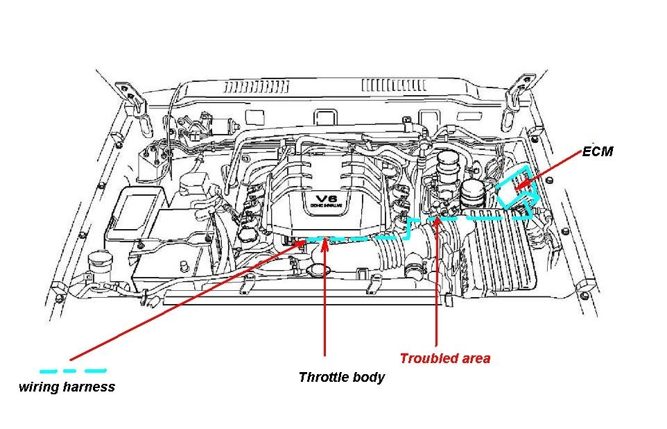 2000 Isuzu Rodeo Engine Diagram