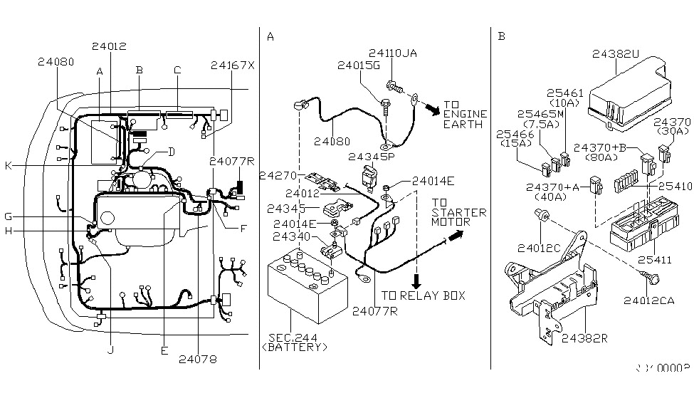 2001 Nissan Frontier Engine Diagram | Automotive Parts ...