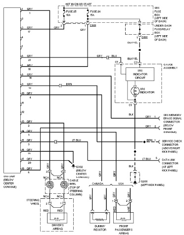 97 Civic Engine Wiring Harness Diagram on kohler engine electrical wiring