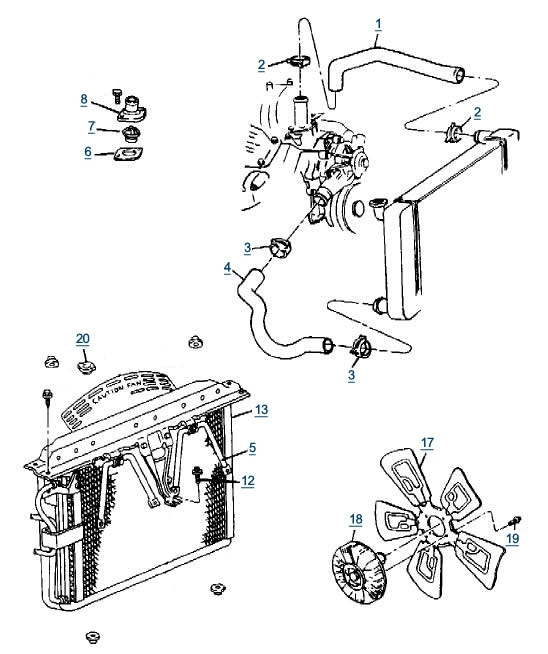 1996    Jeep    Grand    Cherokee       Engine       Diagram      Automotive Parts