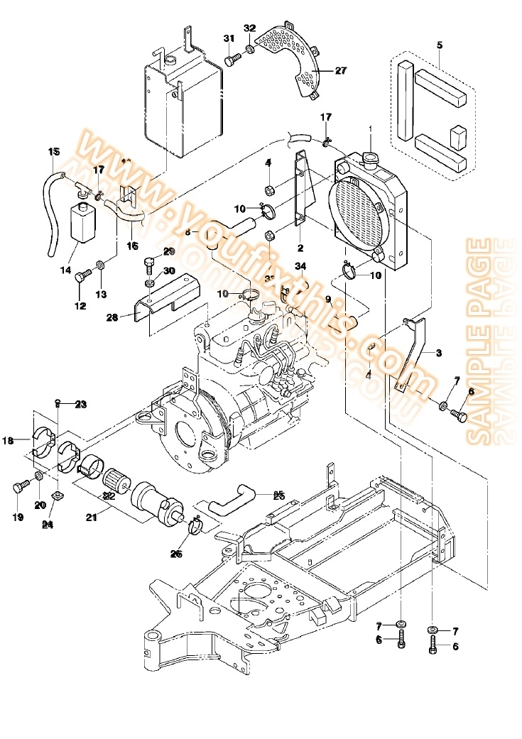 Bobcat S130 Parts Manual [Skid Steer Loader] « Youfixthis regarding New Holland Skid Steer Parts Diagram
