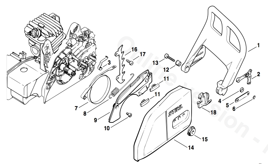 Exciting Stihl Ms Pro Parts Diagram Gallery - Best Image Engine regarding Stihl Ms 192 Tc Parts Diagram