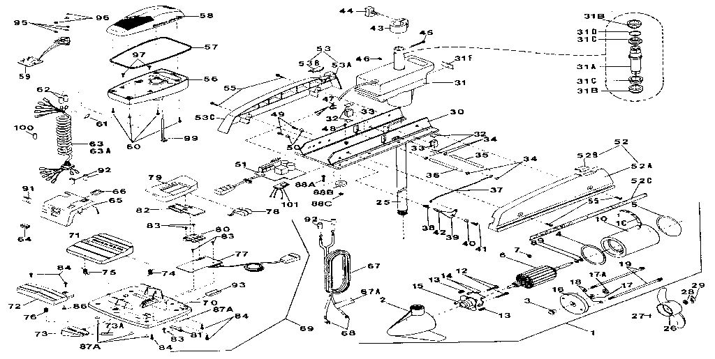 Minn Kota 35 Wiring Diagram with regard to Minn Kota Trolling Motor Parts Diagram