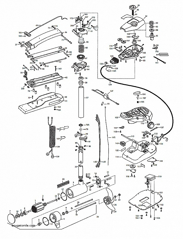Minn Kota Wiring 565 Diagrams with regard to Minn Kota Fortrex 101 Parts Diagram