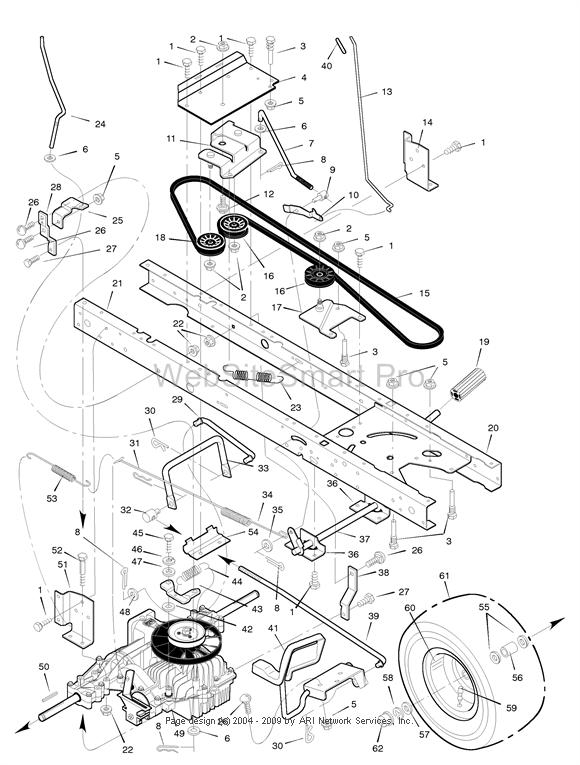 Murray Lawn Mower Part Number | Lawnmowers Snowblowers in Poulan Pro Riding Mower Parts Diagram