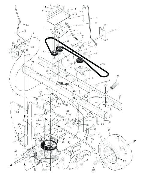 Murry Lawn Mower Parts Downloadtablet Desktop Original Size regarding Murray Riding Lawn Mower Parts Diagram