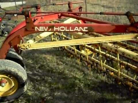 New Holland 256 Hay Rake - Youtube within New Holland 56 Hay Rake Parts Diagram