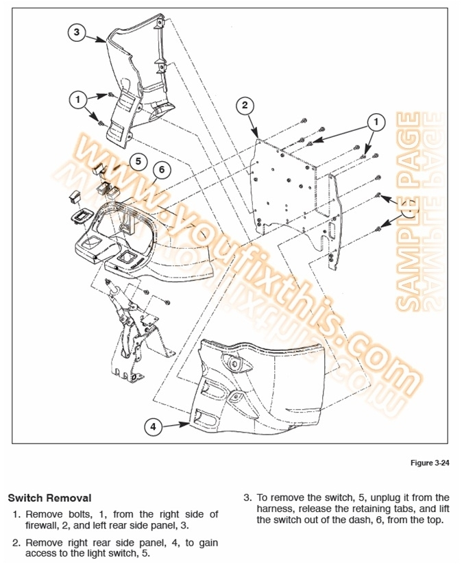 New Holland L565 Lx565 Lx665 Repair Manual [Skid Steer Loader inside New Holland Skid Steer Parts Diagram
