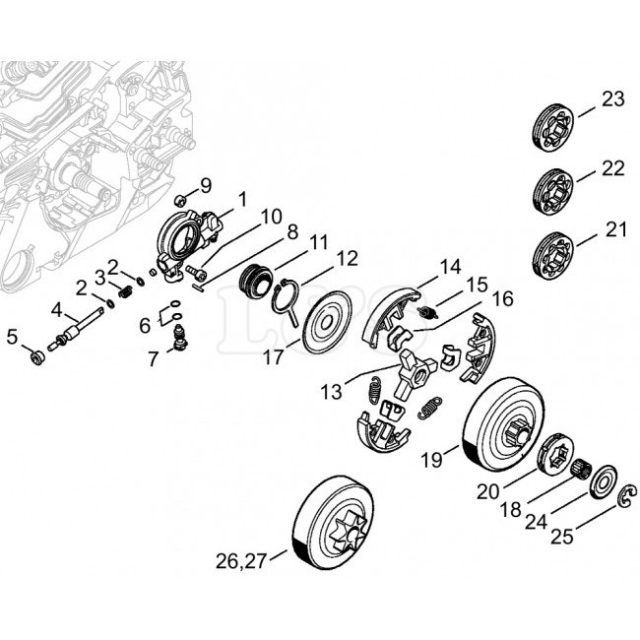 Stihl    Ms    270 C Parts    Diagram      Automotive Parts    Diagram    Images