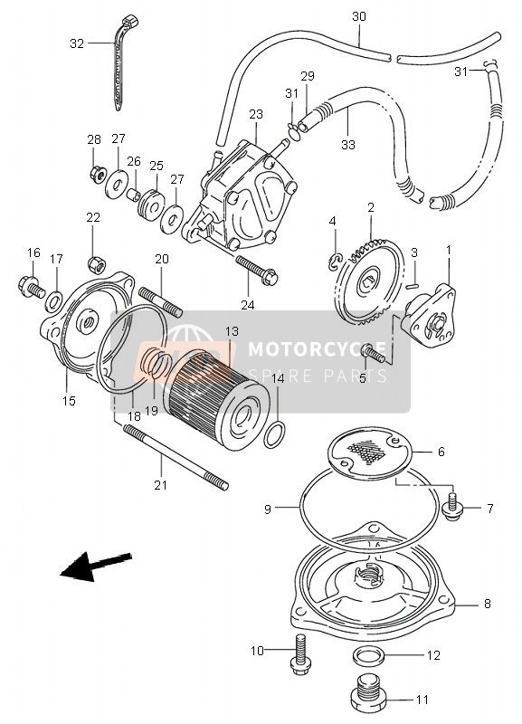Suzuki Lt-F300F Kingquad 4X4 2000 Spare Parts - Msp intended for Suzuki King Quad 300 Parts Diagram