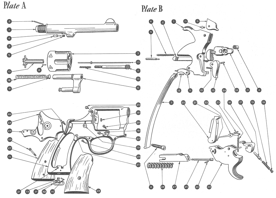 S&w Victory - Smith & Wesson - Handguns within Smith And Wesson M&p Parts Diagram