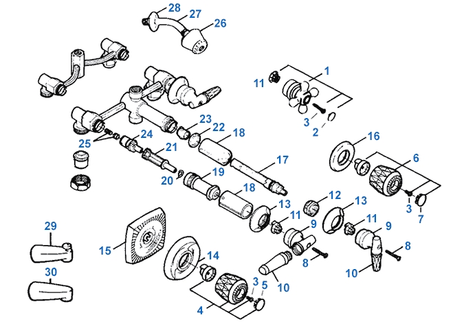 Valley Shower Valve Repair Parts intended for Parts Of A Shower Faucet Diagram