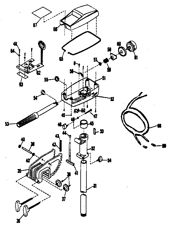 Minn    Kota    Endura 50 Parts    Diagram      Automotive Parts