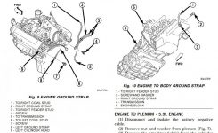 03 Durango 4.7L Engine Ground Locations with regard to 2004 Dodge Durango Engine Diagram