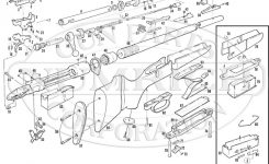 110E Series K Schematic | Numrich pertaining to Savage Model 110 Parts Diagram