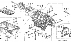 11200-P8A-A00 – Genuine Honda Pan, Oil inside 1998 Honda Accord Engine Diagram