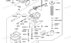 14 Best Kawasaki Bayou 220 250 Klf220 Klf250 Images On Pinterest for Kawasaki Bayou 220 Engine Diagram