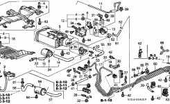 17011-S0X-A50 – Genuine Honda Canister Assy. for 2000 Honda Odyssey Engine Diagram