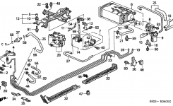 17310-S0X-A02 – Genuine Honda Valve, Canister Vent Shut (Made In with regard to 2000 Honda Accord Parts Diagram