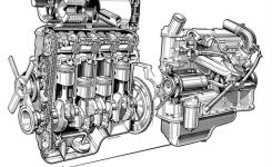 1933 Bmw 303 Saloon Related Infomation,specifications – Weili within Bmw 1 Series Engine Diagram