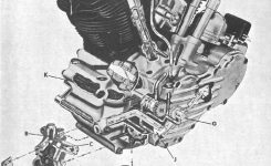 1940-1947 Harley-Davidson Big Twin Service Manual – Cyclepedia with regard to Harley V Twin Engine Diagram