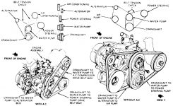 1988 Ford Ranger Water Pump Replacement: I Am Trying To Replace pertaining to 2001 Ford Ranger Engine Diagram