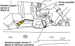 1996-2011 Nissan Pathfinder A/f Sensor – O2 Sensor Location throughout 2000 Nissan Pathfinder Engine Diagram