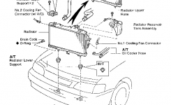 1996 Toyota Tercel Heater Core Replacement Procedure – Toyota for 1996 Toyota Tercel Engine Diagram