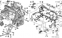 1997 Accord Ex Wagon Auto Vss Replacement – Honda-Tech – Honda pertaining to 1994 Honda Accord Engine Diagram
