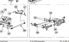 1997 Ford F 350 Parts And Frame | Motor Replacement Parts And Diagram regarding 1997 Ford F250 Parts Diagram