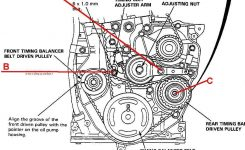 2.2L Timing Belt Lack Of Tension! Help – Honda-Tech – Honda Forum within 1993 Honda Accord Engine Diagram