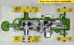 2 Cylinder Exploded Engine Powertrain Diagram – John Deere Forum pertaining to John Deere 2 Cylinder Engine Diagram