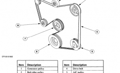 2000 Ford Contour: Im Looking..diagram For A Serpentine Belt..4Cyl pertaining to 1999 Ford Contour Engine Diagram