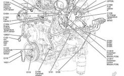 2001 Ford F150 Engine Diagram #swengines | Auto Tech | Pinterest inside 1992 Ford F150 Parts Diagram
