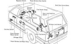 2001 Toyota 4Runner Parts Diagram 2000 Toyota 4Runner Parts Inside with 2000 Toyota 4Runner Parts Diagram