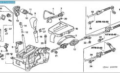 2003 – 2006 Honda Accord Broken Shifter Button Replacement – Auto inside 2004 Honda Accord Parts Diagram