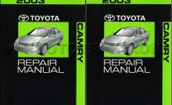 2003 Toyota Camry Wiring Diagram Manual Original with regard to 2003 Toyota Camry Parts Diagram